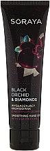 Düfte, Parfümerie und Kosmetik Glättende Handcreme mit Seidenprotein - Soraya Black Orchid & Diamonds Smoothing Hand Cream