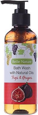 Duschgel mit Feigenbaum und Trauben - Belle Nature Bath Wash Figs&Grapes — Bild N1