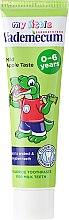 Kinderzahnpasta 0-6 Jahre mit mildem Apfelgeschmack - Vademecum Junior Apple Toothpaste — Bild N2