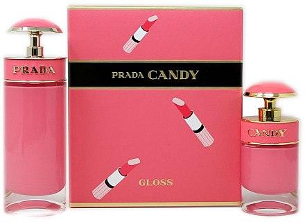 Prada Candy Gloss - Duftset (Eau de Toilette 80ml + Eau de Toilette 30ml) — Bild N1
