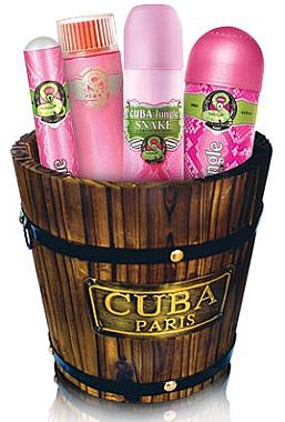 Cuba Jungle Snake - Duftset (Eau de Parfum 100ml + Eau de Parfum 35ml + Körperspray 200ml + Körperlotion 120ml)