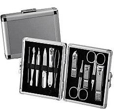 Düfte, Parfümerie und Kosmetik Maniküre-Set - Three Seven Silver Case