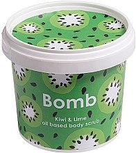 Düfte, Parfümerie und Kosmetik Körperpeeling Kiwi & Lime - Bomb Cosmetics Kiwi & Lime Body Scrub