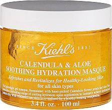 Düfte, Parfümerie und Kosmetik Feuchtigkeitsspendende Gesichtsmaske mit Kamille und ätherischem Zitronenöl - Kiehl`s Calendula & Aloe Soothing Hydration Masque