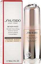 Düfte, Parfümerie und Kosmetik Pflegendes Anti-Aging Gesichtsserum mit Ashitaba-Komplex - Shiseido Benefiance Wrinkle Smoothing Contour Serum