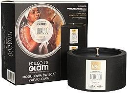 Düfte, Parfümerie und Kosmetik Soja-Duftkerze Tabacco & Vanilla - House of Glam Raw Black Collection Tabacco & Vanilla Candle