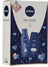 Düfte, Parfümerie und Kosmetik Körperpflegeset - Nivea Feel Good (Duschcreme 250ml + Körpermilch 250ml)