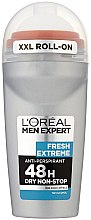 Düfte, Parfümerie und Kosmetik Deo Roll-on Antitranspirant - L'Oreal Paris Men Expert Fresh Extreme Deo Anti-Perspirant Roll-On
