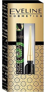 Eveline Cosmetics (Wimperntusche 9ml + Eyeliner 3ml) - Schminkset — Bild N1