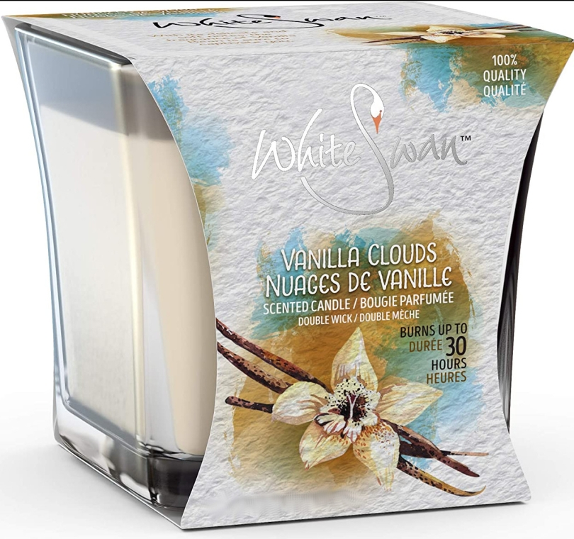 Duftkerze im Glas Vanilla Clouds - White Swan Vanilla Clouds — Bild N1