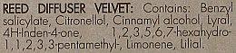 Raumerfrischer Velvet - Millefiori Via Brera Velvet Fragrance Diffuser — Bild N4