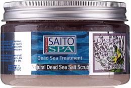 Düfte, Parfümerie und Kosmetik Salzpeeling für den Körper mit Meersalz, Lavendel- und Vanilleduft - Saito Spa Aalt Body Scrub Lavenda&Vanilla