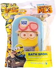 Düfte, Parfümerie und Kosmetik Kinder-Badeschwamm Minions gelb-blau - Suavipiel Minnioins Bath Sponge