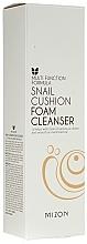 Düfte, Parfümerie und Kosmetik Gesichtsreinigungsschaum mit Schneckenschleimfiltrat - Mizon Snail Cushion Foam Cleanser