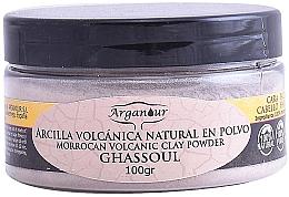 Düfte, Parfümerie und Kosmetik Haar- und Gesichtsmaske mit marokkanischem vulkanischem Ton - Arganour Morrocan Volcanic Clay Powder
