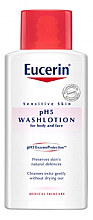 Düfte, Parfümerie und Kosmetik Reinigende Körper- und Gesichtslotion für empfindliche Haut - Eucerin Sensitive Skin pH5 WashLotion