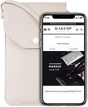 Düfte, Parfümerie und Kosmetik Handytasche zum Umhängen Cross beige - Makeup Phone Case Crossbody Beige