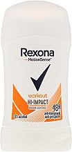 Deostick Antitranspirant - Rexona Motionsense Workout Hi-impact 48h Anti-perspirant — Bild N1