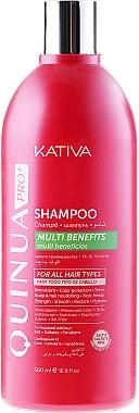Farbschutz-Shampoo für coloriertes Haar - Kativa Quinua PRO Shampoo — Bild N3