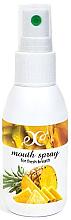 Düfte, Parfümerie und Kosmetik Erfrischendes Mundspray mit Ananasgeschmack - Hristina Cosmetics Pineapple Mouth Spray