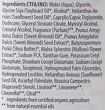 Milde Körpermilch für trockene und empfindliche Haut mit Bio Malve und Bio Mandel - Lavera Cleansing Milk — Bild N4