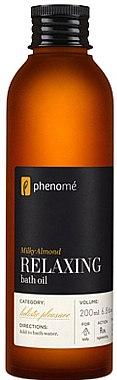 Entspannendes Badeöl - Phenome Milky Almond Relaxing Bath Oil — Bild N1