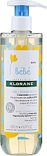 Düfte, Parfümerie und Kosmetik Sanftes und beruhigendes Reinigungsgel für Babys mit Ringelblume - Klorane Bebe Gentle Cleansing Gel Soothing Calendula