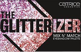 Düfte, Parfümerie und Kosmetik Lidschattenpalette - Catrice The Glitterizer Mix N' Match Eyeshadow Palette
