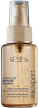 Pflegeserum für sehr geschädigtes Haar - L'Oreal Professionnel Absolut Repair Lipidium Nourishing Serum — Bild N1