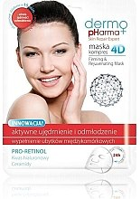 Düfte, Parfümerie und Kosmetik Gesichtsmaske - Dermo Pharma Skin Repair Expert Firming Rejuvenating Mask 4D