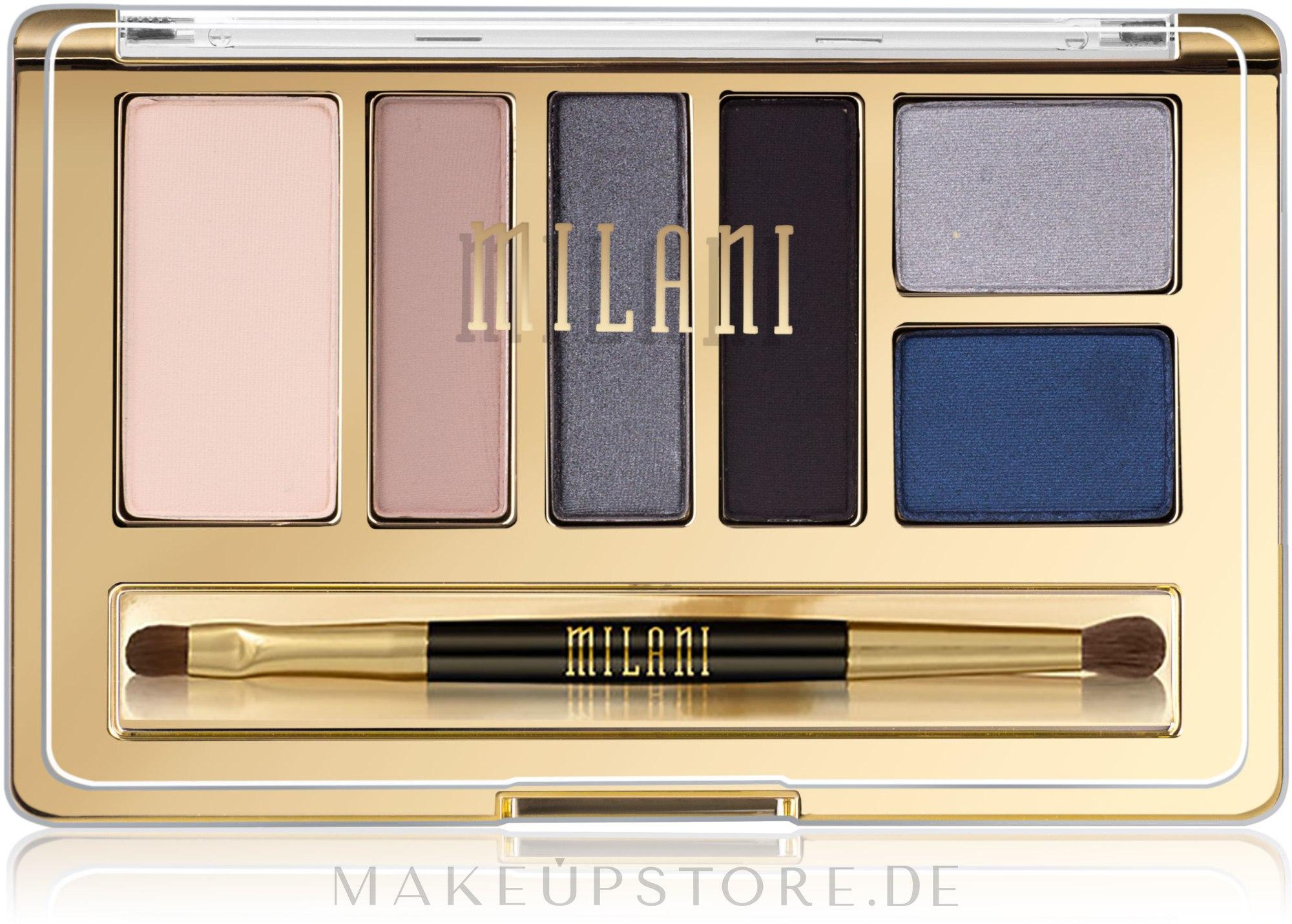 Lidschattenpalette - Milani Everyday Eyes Powder Eyeshadow Collection — Bild 03 - Smoky Essentials