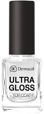 Hochglänzender Nagelüberlack - Dermacol Ultra Gloss Top Coat — Bild N1