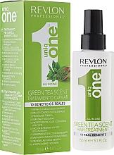 Düfte, Parfümerie und Kosmetik Spraymaske für trockenes und geschädigtes Haar mit grünem Teeduft - Revlon Professional Uniq One Green Tea Scent Hair Treatment