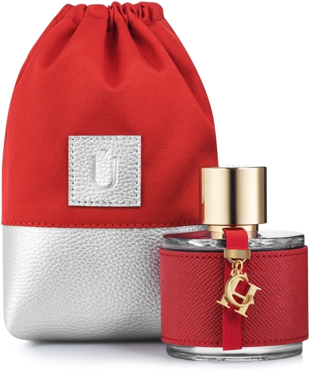 Baumwollsäckchen Perfume Dress rot (ohne Inhalt) - MakeUp