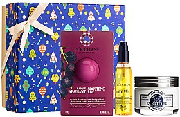 Düfte, Parfümerie und Kosmetik Gesichtspflegeset - L'Occitane Face Care (Gesichtsmaske 6ml + Gesichtscreme 50ml + Gesichtsöl 30ml)