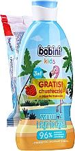Düfte, Parfümerie und Kosmetik Pflegeset für Kinder - Bobini Kids (3in1 Shampoo, Duschgel und Badeschaum 330ml + Feuchttücher 15St.)