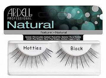 Künstliche Wimpern - Ardell Natural Hotties Black — Bild N1