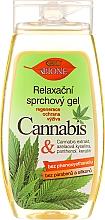 Düfte, Parfümerie und Kosmetik Entspannendes Duschgel mit Hanföl - Bione Cosmetics Cannabis Relaxing Shower Gel