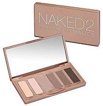 Düfte, Parfümerie und Kosmetik Lidschatten-Palette mit 6 Farben - Urban Decay Naked2 Basics Eyeshadow Palette