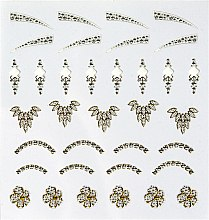 Düfte, Parfümerie und Kosmetik Selbstklebende Nagel-Sticker Halloween - Peggy Sage Decorative Nail Stickers Jewel