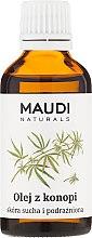 Düfte, Parfümerie und Kosmetik Hanfsamenöl für trockene und gereizte Haut - Maudi