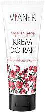 Düfte, Parfümerie und Kosmetik Regenerierende Handcreme mit Maulbeerextrakt - Vianek Regenerating Hand Cream