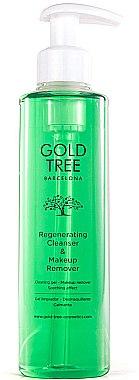 Regenerierendes Reinigungsgel für fettige Haut - Gold Tree Barcelona Regenerating Cleanser & Makeup Remover — Bild N1