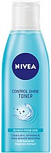 Düfte, Parfümerie und Kosmetik Gesichtslotion - Nivea Shine Control Cleansing Lotion