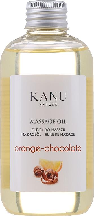Massageöl mit Orange und Schokolade - Kanu Nature Orange Chocolate Massage Oil — Bild N1