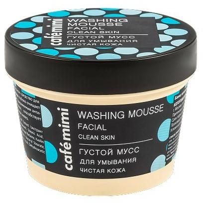 """Gesichtsreinigungsmousse """"Reine Haut"""" - Cafe Mimi Washing Mousse Facial Clean Skin — Bild N1"""