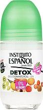 "Düfte, Parfümerie und Kosmetik Deo Roll-on ""Detox"" - Instituto Espanol Detox Deodorant Roll-on"