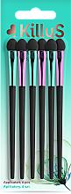 Düfte, Parfümerie und Kosmetik Lidschatten-Applikatoren lange 6 St. - Killys Botanical Inspiration Applicators