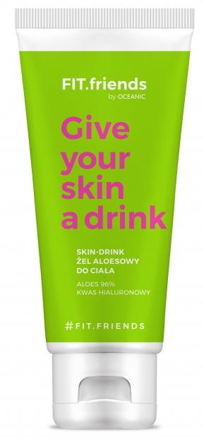 Feuchtigkeitsspendendes Körpergel mit Aloe Vera - AA Fit.Friends Give Your Skin A Drink Body Gel — Bild N1