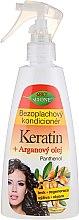 Düfte, Parfümerie und Kosmetik Haarspülung ohne Ausspülen mit Keratin, Arganöl und Panthenol - Bione Cosmetics Keratin + Argan Oil Leave-in Conditioner With Panthenol